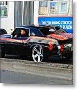 Sf Giants Muscle Car Metal Print