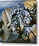 Sf Hyatt Outside Metal Print