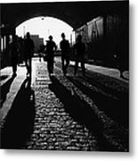 Shad Thames Under Passage  Metal Print