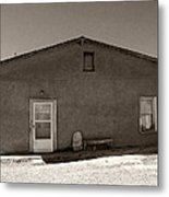 Shaded Adobe Metal Print