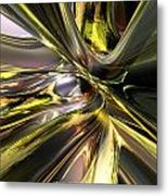 Shadow Abstract Serenity T Fx Metal Print