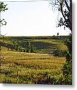 Shadow In The Valley Metal Print