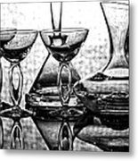 Shadow Of Luxury Glass No.1 Metal Print