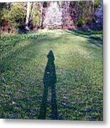 Shadows Long Metal Print