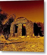 Shadows Of The Old West Metal Print