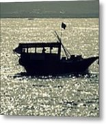 Shadows On The Water Metal Print