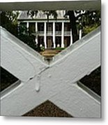 Shadows X On The Teche  Metal Print
