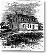 Shaker Church, 1875 Metal Print
