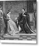 Shakespeare: King Henry V Metal Print