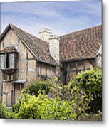 Shakespeare's Birthplace. Metal Print by Jane Rix
