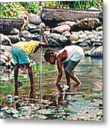 Shallow Waters Metal Print