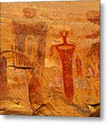 Shamans Of The Rock Metal Print
