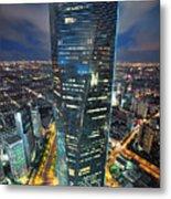 Shanghai Tower Metal Print
