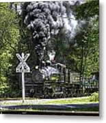 Shay Six At Back Mountain Road Metal Print