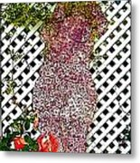 She Never Dreamed That Nature Could Be So Overwhelming Metal Print