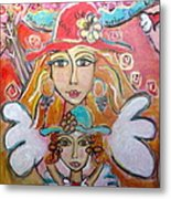 She Passes Down The Mother Love Wisdom Metal Print