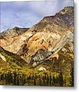 Sheep Mountain Along Glenn Highway Metal Print