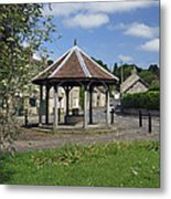 Sheepwash Well - Ashford-in-the-water Metal Print