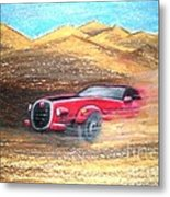 Sheikhs Dirt Racer Metal Print