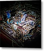 Shelby G.t. 500 Engine Metal Print