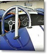 Shelby Signed Cobra Metal Print by Karyn Robinson