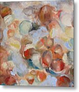 Shell Impression I Metal Print by Susan Hanlon