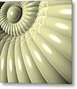 Shell Of Repetition Metal Print