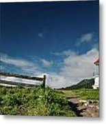 Shelter Cove Lighthouse Metal Print