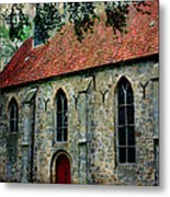 Shelter From The Storm Metal Print by Carol Groenen