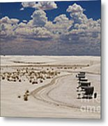 Shelters From The Afternoon Sun Metal Print