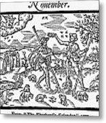 Shepherd, 1597 Metal Print