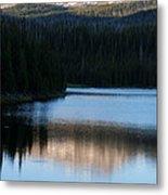 Sheriff Lake Flat Tops Colorado Metal Print