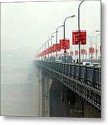 Shibanpo Bridge Metal Print