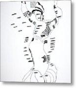 Shikat Dance - Morocco Metal Print