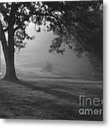 Shiloh In The Fog Metal Print by David Bearden