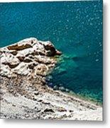 Shimmering Azure Water I Metal Print