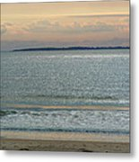 Shimmering Sunlight Upon The Sea Metal Print