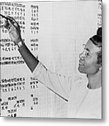 Shirley Chisholm 1924-2005 Monitoring Metal Print by Everett