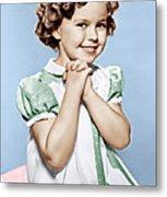 Shirley Temple, Ca. 1936 Metal Print
