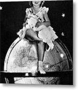 Shirley Temple, Fox Film Portrait, Ca Metal Print