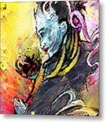 Shiva Diva Metal Print