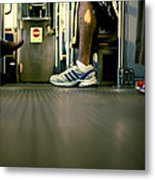 Shoes On The L Metal Print