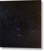 Shooting Stars And A Comet Metal Print