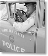 Shopping Police Metal Print by Ecell