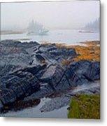 Shorelines Bluerocks Lunenburg Nova Scotia Metal Print