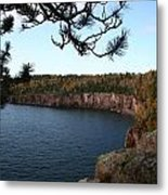 Shovel Point From Crystal Creek Overlook Metal Print