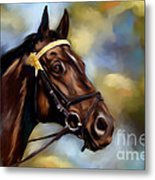 Show Horse Painting Metal Print