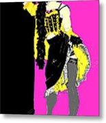 Showgirl  Metal Print