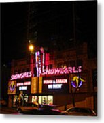 Showgirls Moving And Shaking Metal Print