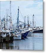 Shrimpers Row Metal Print